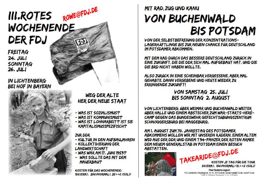 Freie Deutsche Jugend - FDJ Aktiv