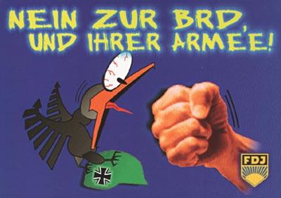 Nein zur BRD und ihrer Armee